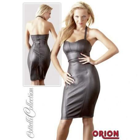 Сексуальное черное платье L